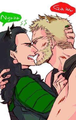 [Thorki] Loki trông như muốn đánh người rồi