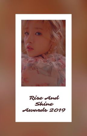 Rise And Shine Awards 2019 by RiseAndShineAwards