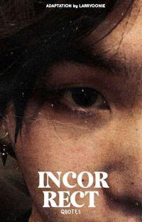 incorrect quotes » jimsu cover
