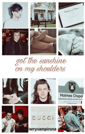 got the sunshine on my shoulders - portuguese version by larryvampirona