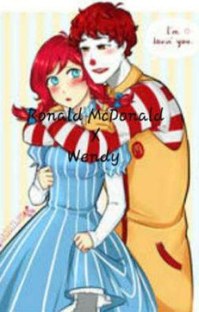 Ronald McDonald x Wendy by iamnowachickennugget