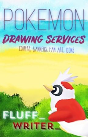 Pokémon drawing services (cover, banners, fan art, icons) by fluff_writer_