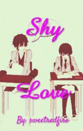 Shy love by sweetredfire