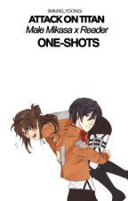 Male Mikasa x Reader ONESHOTS by smiling_yoongi