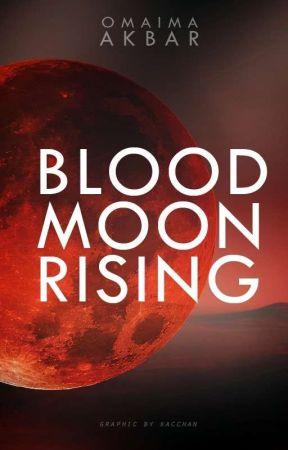 Blood Moon Rising by OmaimaAkbar