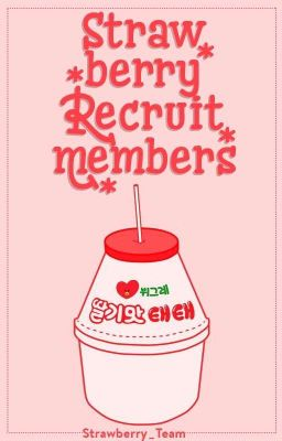 Welcome to Strawberry_Team