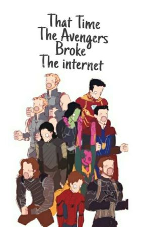 That Time The Avengers Broke The Internet by moonflcwer
