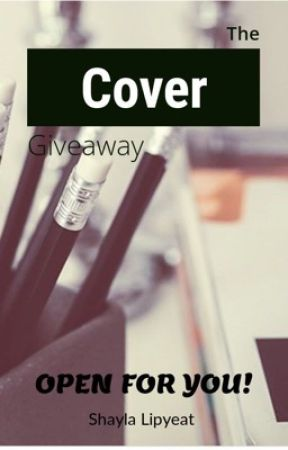 The Cover giveaway 2019 (currently closed) by BubblePopShay