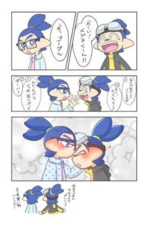 small splatoon manga ships oneshots by B__D__E