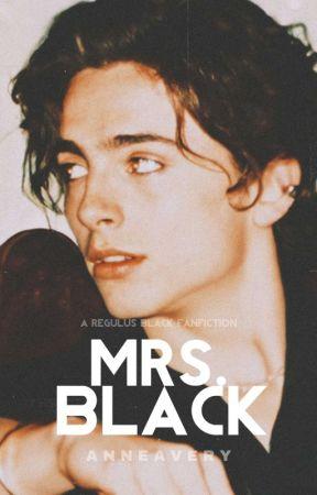 MRS BLACK • r. black by shewolflupin