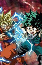 Goku the UA student (BNHA x DBZ) by Shadow2190