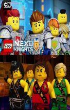 Ninjas vs Nexo Knights by Master-of-Chaos
