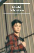 friends?    billy batson x reader. by averyphobic