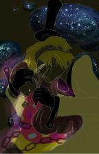 """My Weirdmageddon Bride"" Yandere Human! Bill Cipher x Mabel Pines by rainbowcart0405"