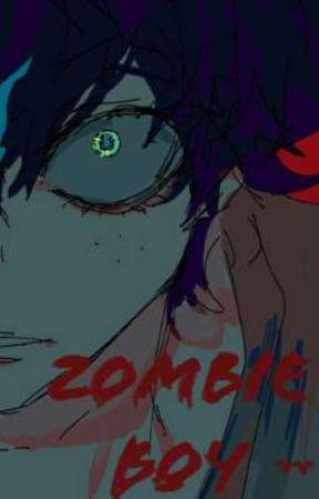 Zombie Boy by -Caribbean-Blue-