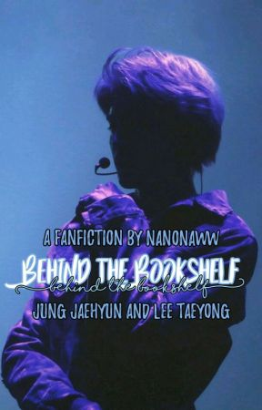 Behind the Bookshelf   Jaeyong by Nanonaww