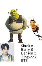 Barry B Benson x Shrek x Jungkook BTS by justsapphic