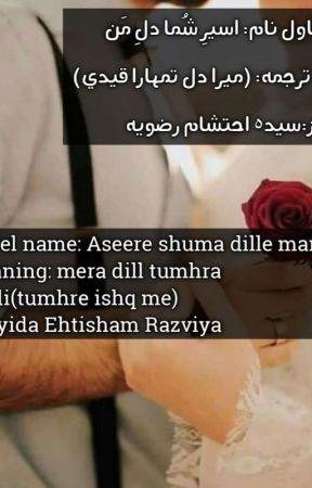 مکمل☑️✔♡اسیـرِ شُمـا دلِ مَـن♡از:سیدہ احتشام aseere Shuma Dile Man By Sayyida  by sayyida_nazish