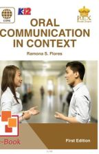 Oral Communication by schoolnotes21