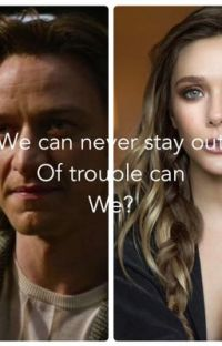 We can never stay out of trouble can we? cover