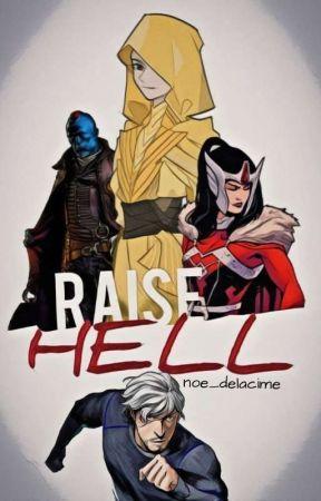 Raise Hell | MARVEL  by noe_delacime