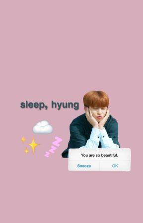 sleep, hyung   hongjoong x ateez by micasateez