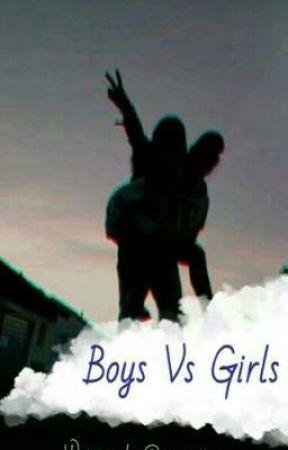 Boys Vs Girls!  by Vasilissa_7