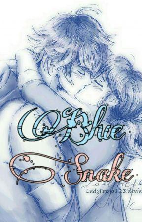 Blue Snake | Lukanette.  by off_porsiempre