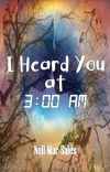 I Heard You at 3:00 AM cover