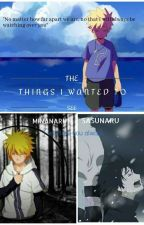 [The Things I Wanted To See] A SasuNaru or MinaNaru Story! // DECIDED AT END! by KanekixDabi