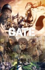 Gate Thus the fellowship of middle earth enters the gate by TheGreatSummoner