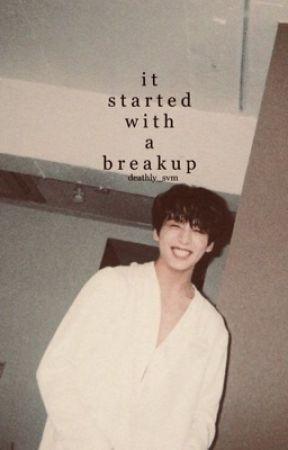 it started with a break up   jikook (namjin) ✔️ by emyxliie