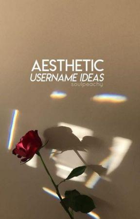 Aesthetic Username Ideas Vsco Usernames Wattpad