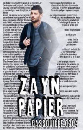 Zayn Papier by Cassouille0304