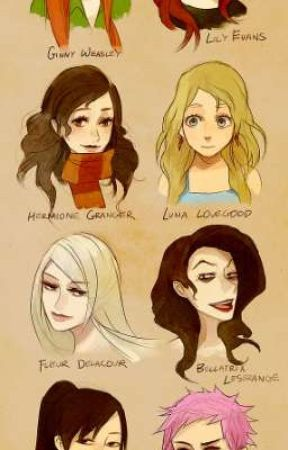 Harry Potter Girls X Malereader Fleur Delacour Wattpad