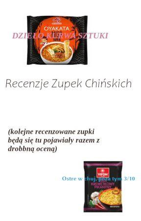 Recenzje Zupek Chińskich by ciaztkotobug