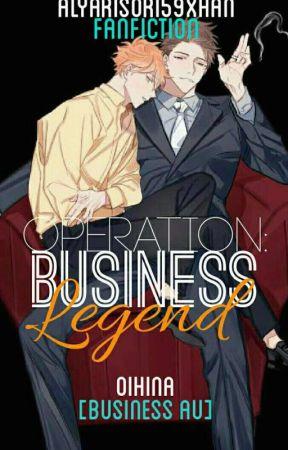 OPERATION: Business Legend (Oihina) [Business AU] by alyari_chan