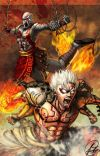 The War and The Wrath (Kratos and Asura Reader X Highschool DXD) cover