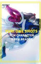YURI ONE SHOTS (FEM CHARACTER x FEM READER ) by kicho26