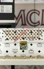 MCM Medium Millie Diamond Visetos Flap Crossbody In White by cheapmoschino