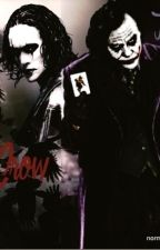 The Joker vs The Crow by tattooedcorpse