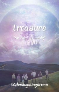 treasure (pirate!au) ➵ ateez cover