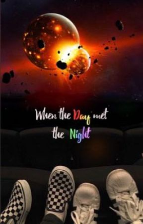 """""""When the Day met the Night"""" boyxboy by creeper_cat"""