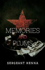 MEMORIES AND PLUMS// Bucky Barnes FanFic by Gehenna_Script