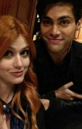 shadowhunters clary and alec (friendship) by Tiberius221b