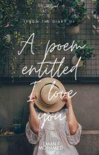 قصيدة بعنوان أحبك  by eman-68