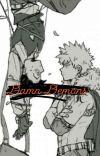 Katsuki x reader - Damn Demons cover
