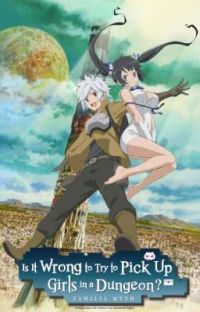 is it wrong to pick up girls in a dungeon x shy male reader cover