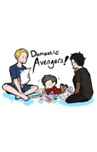 Domestic Avengers! cover