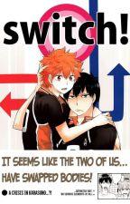Switch! (Hiyaku!! Comic) {Hinata x Kageyama} by LillyenWolfGames